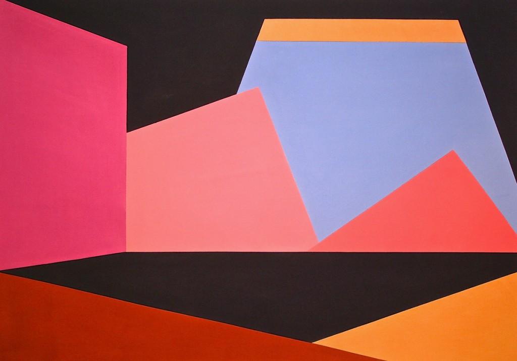 Skybox #3 - Mokha Laget - Peyton Wright Gallery - 2013