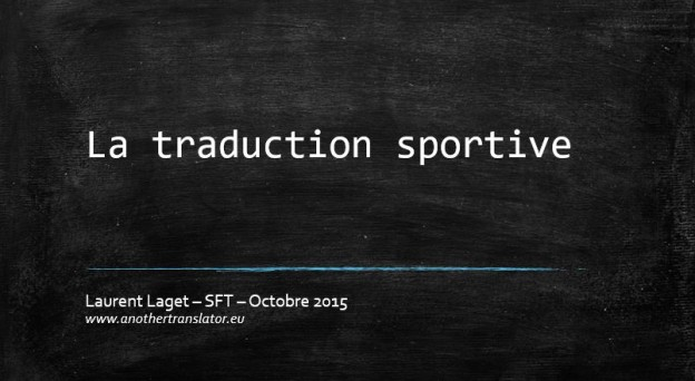 Traduire le sport
